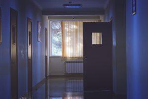 Visitas em hospitais